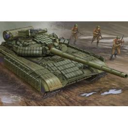 Maquette du T-64av 1984, char Soviétique au 1/35ème Trumpeter.