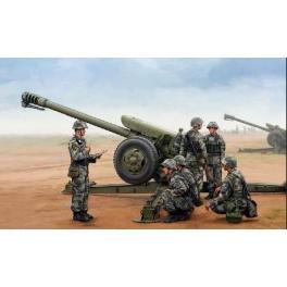 Maquette canon Howitzer PL96Mn au 1/35ème Trumpeter.