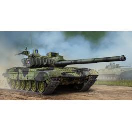 Maquette du T-72M4CZ, char moyen Tchèque au 1/35ème Trumpeter.