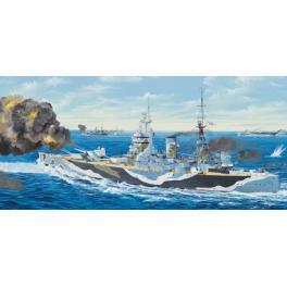 Maquette Cuirasser Britannique HMS Nelson, bçatiment de guerre au 200ème Trumpeter.
