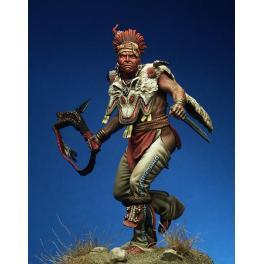Figurine historique de guerrier Fox en 75mm Pegaso.