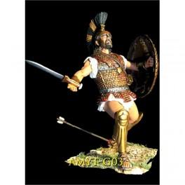 Ares mythologic,75mm figuren .Achille.