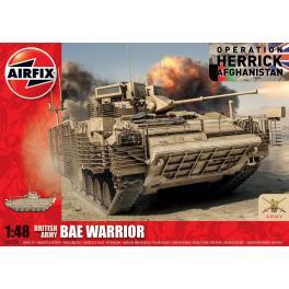 Maquette de char BAE WARRIOR au 1/48ème Airfix.