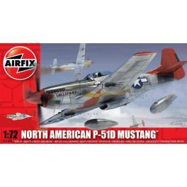 Maquette de Mustang P-51D au 1/72ème Airfix.
