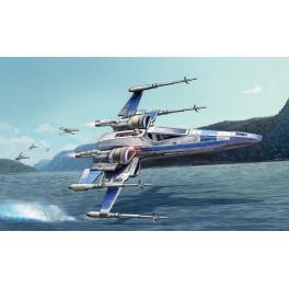 Maquette du X- Wing Fighter Resistance au 1/50ème Revell