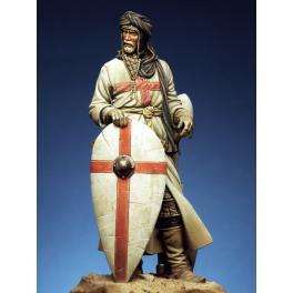 Figurine de chevalier Croisé 90mm Romeo Models.