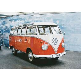 Maquette de mini bus Wolkswagen au 1/16ème.