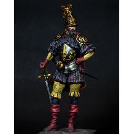 Figurine 75mm, Capitaine du XVIème siècle.