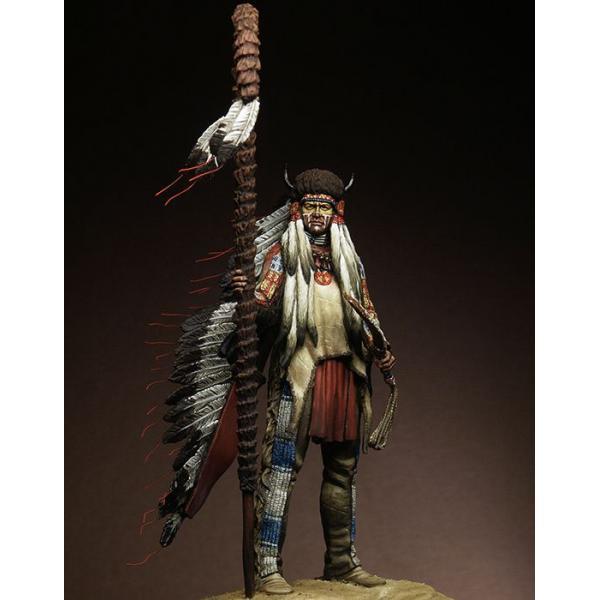 "Figurine 75mm Pegaso Models, "" Medicine Man""."