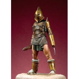 Figurine 54mm Pegaso Gladiateur Secutor.