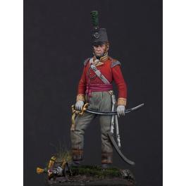 Andrea miniatures 54mm Figurine d' Officier Britannique 1815