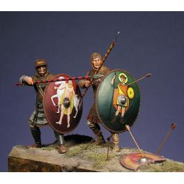 Soldiers 54mm.Roman Heavy Infantryman military models figure kits.