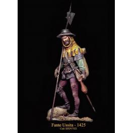 Figurine de hallebardier en 1425 Masterclass