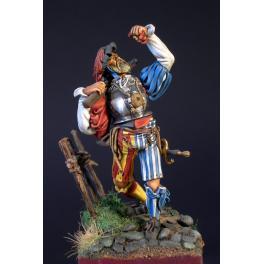 Masterclass-54mm figurine de Lansquenet XVIe siècle
