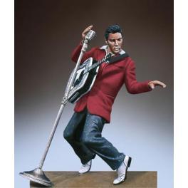 Andrea miniatures,Figurine d'Elvis Presley, The King.