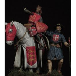 Figurine de Richard Coeur De Lion 54mm Crécy Models.