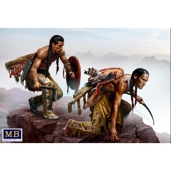 Figurine Master Box, RAID CHEYENNE - INDIAN WARS SERIE