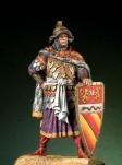 54mm.pegaso Models.Figurine de Chevalier du XIIe siècle.