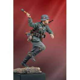 Panzergrenadier in Frankreich 1940 , 90mm figuren  Andrea miniatures.