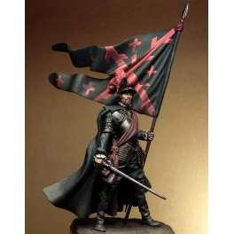 Figurine de Capitaine du  XVI siècle de Pegaso models 75mm.