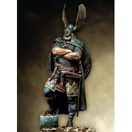 Chef Viking.Figurine historique 90mm Pegaso.