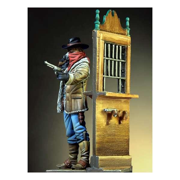 54mm Figure kits.Western Robber.