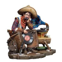 Andrea miniarures 54mm Envie de jeunesse Le Vieux Cowboy