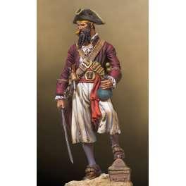 Andrea miniaturen,54mm.Piraten figuren.Blackbeard.