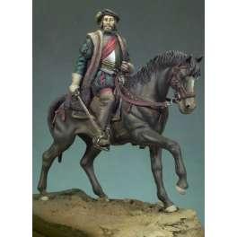 Figurine de cavalier du XVIème siècle Andrea miniatures 54mm.
