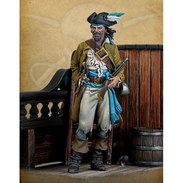 Pirate figure kits 54mm  Andrea miniatures.