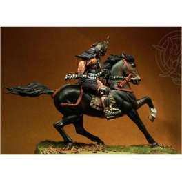 Romeo Models,75mm figuren.Samurai Kusunoki Masashige.1294-1336.