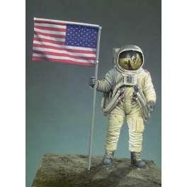 Figurine d'astronaute  Premier Homme Sur La Lune Andrea miniatures 54mm.