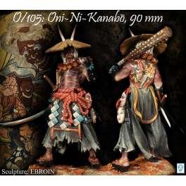 Figurine de ONI-NI-KNABO 90mm Alexandros Models.