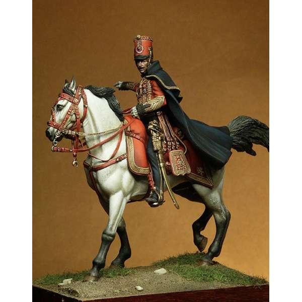 Figurine de Captaine Pierre-Agathe Heymes, AdC du Maréchal Ney 54mm Pegaso Models.