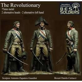 Figurine du Révolutionnaire 75mm Bestsoldiers.
