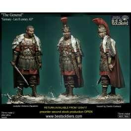 Figurine de général Romain IIème siècle Bestsoldiers 75mm.