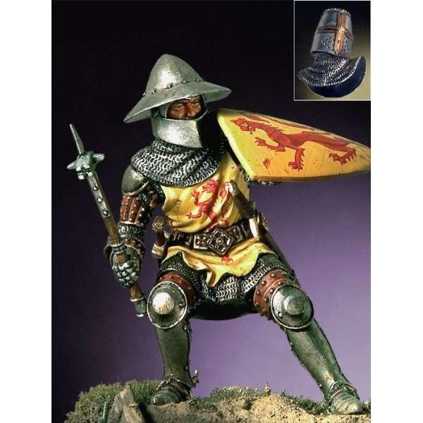 54mm.Pegaso models.Figurine de Chevalier Germain,1350 1370.