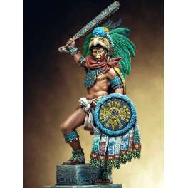 Pegaso models 75mm, figurine de Montezuma.
