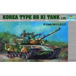 Char de combat Coréen Type 88 K1. Maquette de char Trumpeter 1/35e