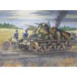 Véhicule d'observation  Allemand 39 H,1944. Maquette  char Trumpeter  35e.