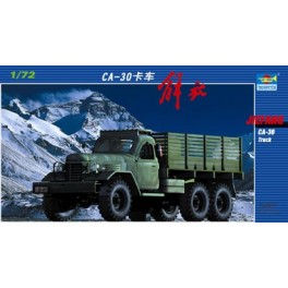 Camion Chinois JIE FANG CA 30. Maquette Trumpeter 1/72e