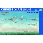 XIAN JHU-6 AVION DE RAVITAILLEMENT EN VOL CHINOIS  Maquette avion Trumpeter 1/72e