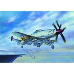 "CHASSEUR EMBARQUE BRITISH ""WYVERN"" S.4 Maquette avion Trumpeter 1/72e"