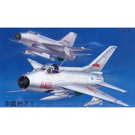 F-7 II ARMEE DE L'AIR CHINOISE 1980. Maquette avion Trumpeter 1/32e