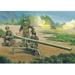 Trumpeter 1/35e CANON SANS RECUL CHINOIS PRC 105MM Type 75 , avec figurines