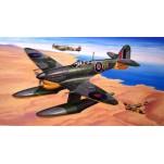 SUPER MARINE SPITFIRE MK Vb AVEC FLOTTEURS Maquette avion Trumpeter 1/24e