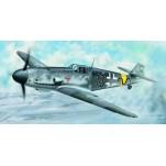 MESSERSCHMITT Bf 109 G-2 1943 Maquette avion Trumpeter 1/24e