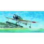 "NAKAJIMA A6M2-N ""RUFE"" HYDRAVION JAPONAIS 1943  Maquette avion Trumpeter 1/24e"