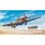 HAWKER HURRICANE MkIIC (Trop) 1942 Maquette avion Trumpeter 1/24e