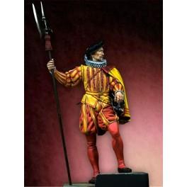 Figurine de Hallebardier par Pegaso Models.75mm.
